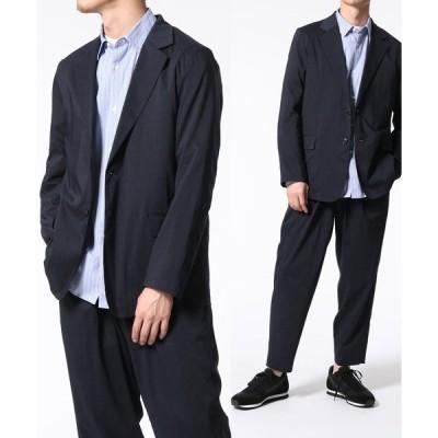 ジャケット テーラードジャケット 【Ramie blend】シャツジャケット/セットアップ対応