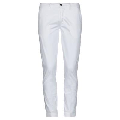 LABORATORI ITALIANI パンツ ホワイト 44 コットン 98% / ポリウレタン 2% パンツ