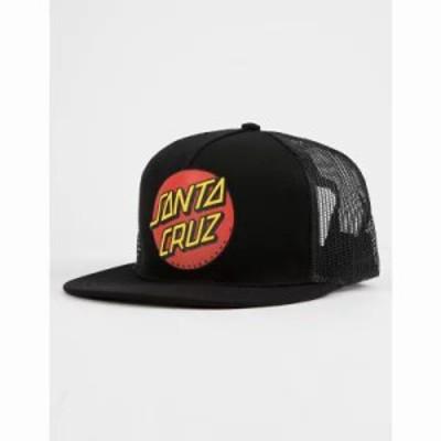 サンタクルーズ キャップ Classic Dot s Trucker Hat Black