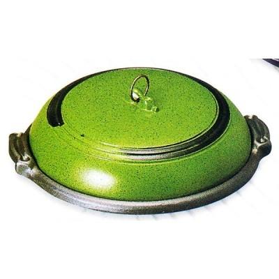 アルミ 大型 ジャンボ味陶板(ありそ)中 フッ素加工 品番:20225 陶板焼き料理に 代引不可商品です。