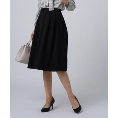 【洗える】ソフィアライトツイルフレアスカート