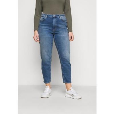 レディース ファッション CARENEDA LIFE MOM - Relaxed fit jeans - dark blue denim