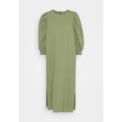 ミニマム レディース ファッション HURSINE - Day dress - oil green