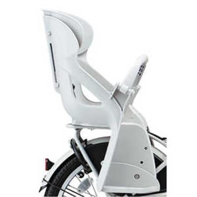 ブリヂストン bikkeシリーズ用 リヤチャイルドシート(ホワイト) ホワイト RCS_BIK4