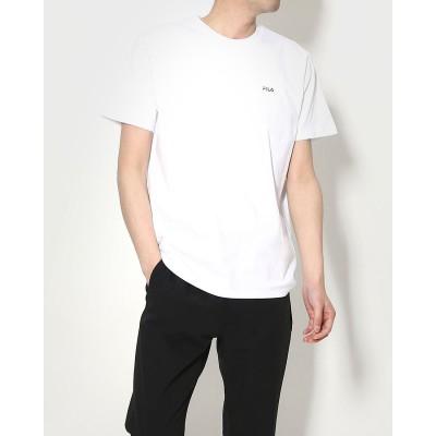 フィラ FILA メンズ 半袖Tシャツ FL-9C11101TS (ホワイト)