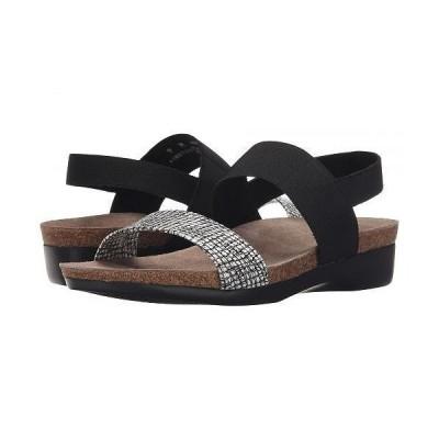 Munro ムンロ レディース 女性用 シューズ 靴 サンダル Pisces - White/Black Fabric Combo