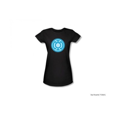 Tシャツ トップス シャツグリーンランタングリーン Lantern ブルー Symbol オフィシャルライセンス ジュニア シャツ S-XL