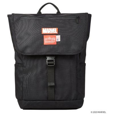 【カバンのセレクション】 マンハッタンポーテージ マーベル リュック バックパック Manhattan Portage MARVEL mp1220jrmarvel ユニセックス ブラック フリー Bag&Luggage SELECTION