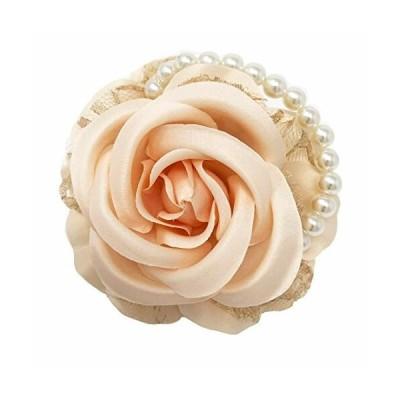 コサージュ 入学式 コサージュ フォーマル 2way ばら 花 ヘッドドレス 卒業式 コサージュ結婚式 髪飾り fh7008sya