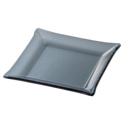 シーニュ スモーク 14cmスクエアープレート [ D13.9 x H1.5cm ] 【 小皿 】 | 飲食店 ホテル レストラン 洋食 業務用