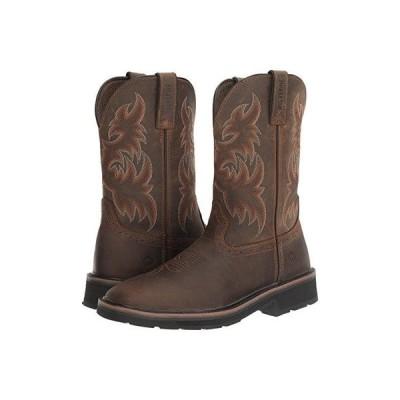 ウルヴァリン Rancher Wellington Soft Toe メンズ ブーツ Dark Brown/Rust
