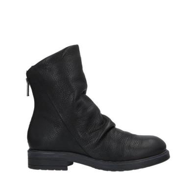 FABBRICA DEI COLLI ショートブーツ  レディースファッション  レディースシューズ  ブーツ  その他ブーツ ブラック