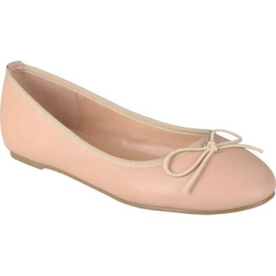 ジュルネ コレクション Journee Collection レディース スリッポン・フラット シューズ・靴 Vika Flat Blush