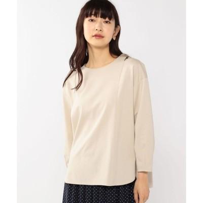 tシャツ Tシャツ アシメパフスリーブTシャツ