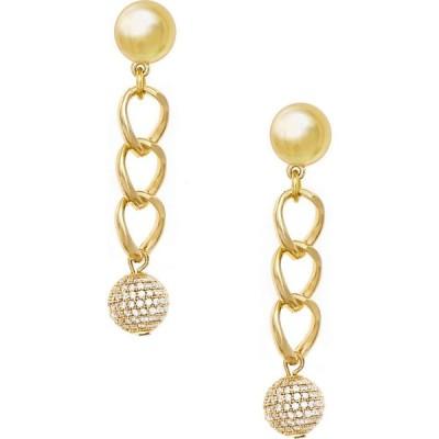 エティカ ETTIKA レディース イヤリング・ピアス ドロップピアス ジュエリー・アクセサリー Chain Link Drop Earrings Gold