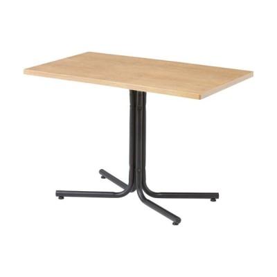 カフェテーブル ダイニングテーブル ダリオ 幅100cm 角型 ナチュラル テーブル 机
