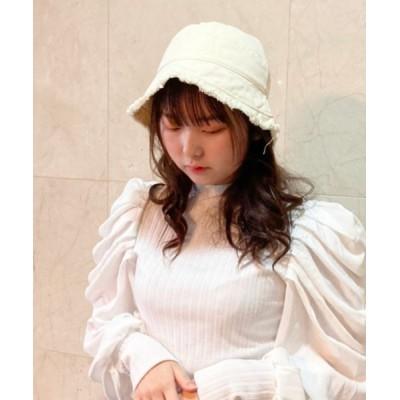 wears / コットン デニム バケットハット WOMEN 帽子 > ハット