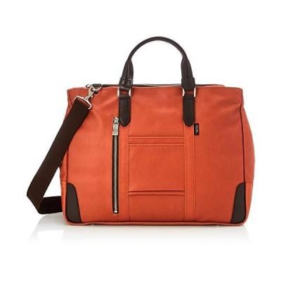 [エバウィン] 【日本製】ビジネスバッグ 撥水加工 A4サイズ収納可 21598 オレンジ