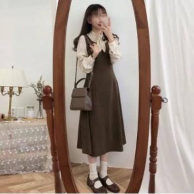 ジャンパースカート レディース 大きいサイズ ジャンパースカート オールインワン サロペット スカート サロペット ワンピース