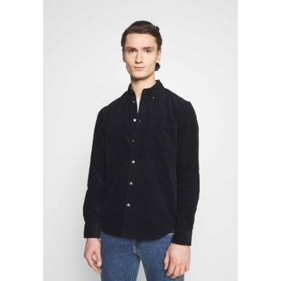 アーケット シャツ メンズ トップス SHIRT - Shirt - black dark