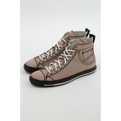 ディーゼル スニーカー ハイカット シューズ 靴 EXPOSURE I - sneaker mid メンズ Y00023 P0465 ブラウン DIESEL
