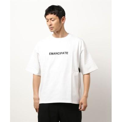 tシャツ Tシャツ ヘビーウエイトロゴプリントビッグTシャツ