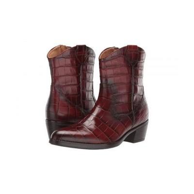 Gabor ガボール レディース 女性用 シューズ 靴 ブーツ アンクルブーツ ショート Gabor 31.600 - Cognac Kroko