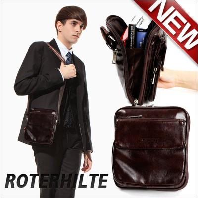 【在庫処分セール】フェイク レザーバッグ 男女兼用 メンズ ショルダー バッグ ポシェットバッグ ミニバッグ