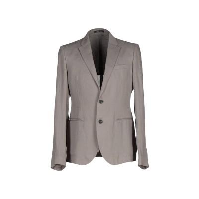 エンポリオ アルマーニ EMPORIO ARMANI テーラードジャケット グレー 46 麻 100% テーラードジャケット