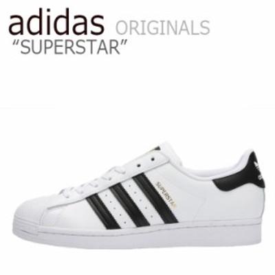 アディダス スーパースター スニーカー adidas SUPERSTAR スーパースター WHITE ホワイト BLACK ブラック EG4958 シューズ