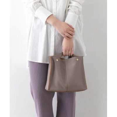 URBAN RESEARCH ROSSO/アーバンリサーチ ロッソ PAOLA NUTTI FILOMENA 2WAYトート S TAUPE -