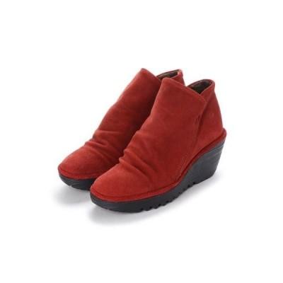 ヨーロッパコンフォートシューズ EU Comfort Shoes FLYLONDON ショートブーツ(YIP500.505) (レッド)