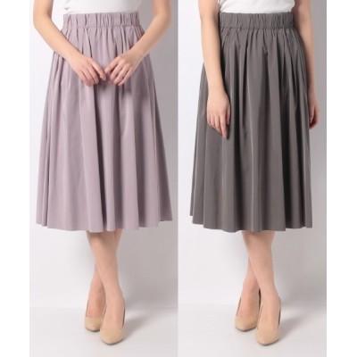en recre / リバーシブルカラースカ-ト WOMEN スカート > スカート