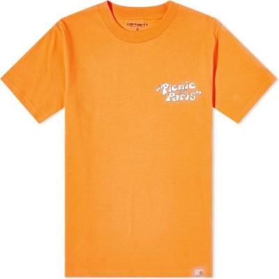 カーハート Carhartt WIP メンズ Tシャツ トップス Carhartt Picnic In Paris Tee Hokkaido