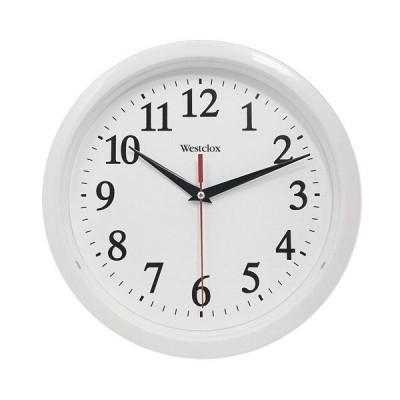 """壁掛け時計 インテリア インテリア 461761 Westclox (White 461761 Basic Wall Clock, 10"""""""