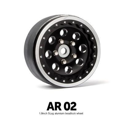 GM70364  1.9 AR02 5lug aluminumbeadlock wheels (2