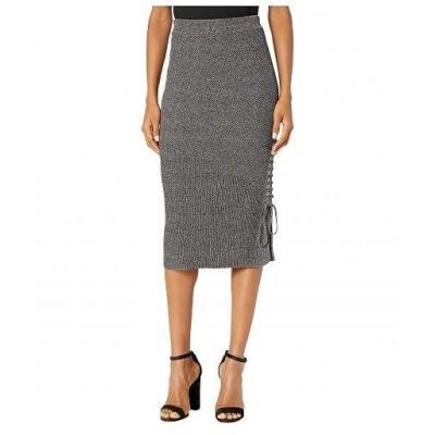 McQ マックキュー レディース 女性用 ファッション スカート Midi Skirt - Multi Blue/Black