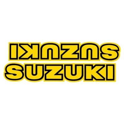 """ホーリーエクイップ HollyEquip """"SUZUKI""""タンクデカール(PR) SUZUKI RM125/250/400/465/500(80-84)"""