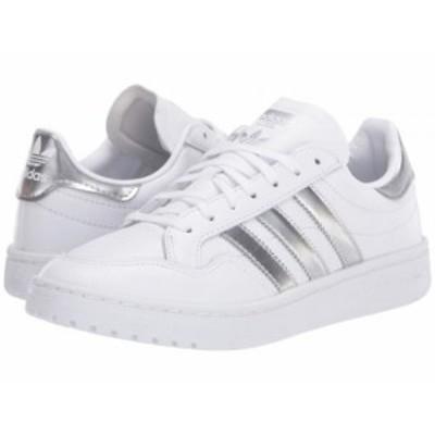 adidas Originals アディダス レディース 女性用 シューズ 靴 スニーカー 運動靴 Team Court Footwear White/Silver【送料無料】