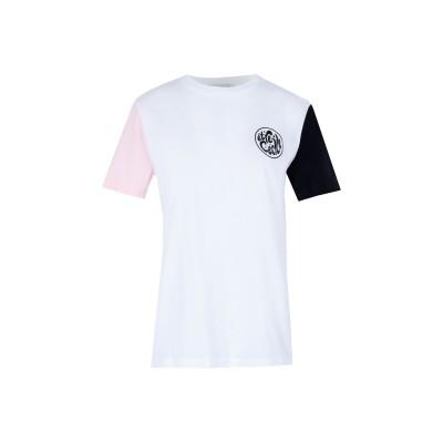 エトレセシル ÊTRE CÉCILE T シャツ ホワイト XS コットン 100% / シルク T シャツ