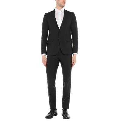 アティピコ AT.P.CO スーツ ブラック 46 ポリエステル 53% / バージンウール 43% / ポリウレタン 4% スーツ