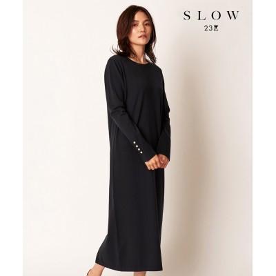 【SLOW】HIGHGAUGE COTTONワンピース