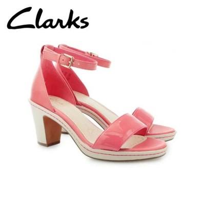 在庫一掃セール CLARKS クラークス シューズ レディース DULCIE MOLLY 26106814 CORAL COMBI CLA26106814