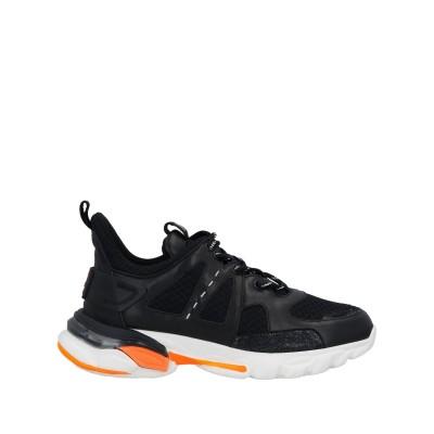 LA CARRIE スニーカー&テニスシューズ(ローカット) ブラック 36 革 / 紡績繊維 スニーカー&テニスシューズ(ローカット)