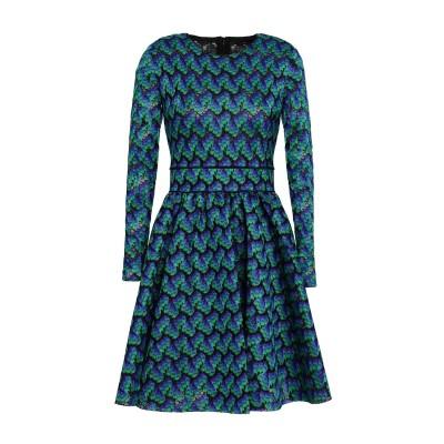 MAJE ミニワンピース&ドレス グリーン 3 ポリエステル 100% ミニワンピース&ドレス