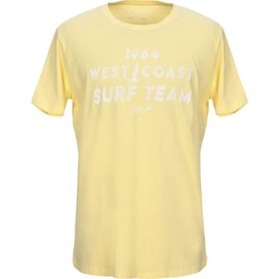 リウジョー LIU JO MAN メンズ Tシャツ トップス t-shirt Yellow