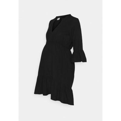 ママリシャス ワンピース レディース トップス MLCHIA SHORT DRESS - Day dress - black