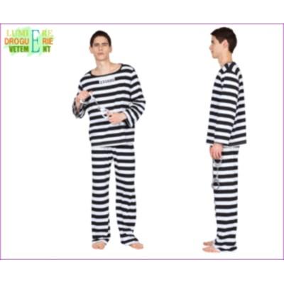 【UNISEX】【コスの極み】囚人【プリズン】【牢屋】【ジョーク】【ユーモア】【ハロウィン】【コスプレ】【コスチューム】【衣装】【仮装