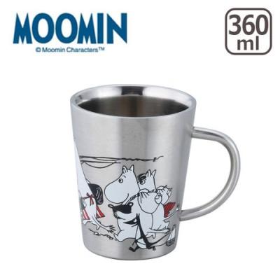 MOOMIN(ムーミン)二重マグ  ピクニック ymk3714-13