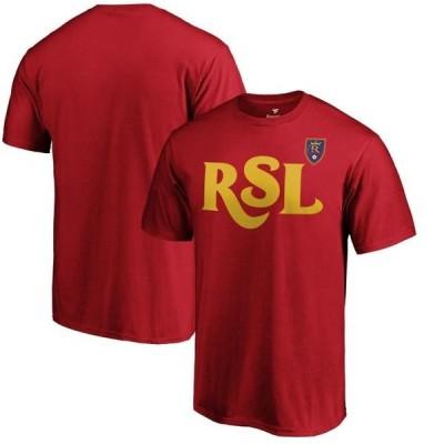 ユニセックス スポーツリーグ サッカー Real Salt Lake Fanatics Branded Jersey Hook T-Shirt - Cardinal Tシャツ